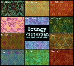 Mod The Sims - Grungy Victorian (you had me at hello) - 11 pattern set