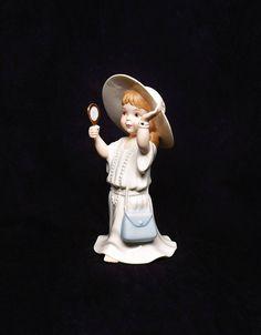 LENOX GIRL FIGURINE ~ Lenox Figurines ~ Lenox ~ Lenox Children ~ Lenox Girls ~ Figurines ~ Lenox Porcelain Figurines ~ Porcelain Figurines by REDSTONEVINTAGE on Etsy