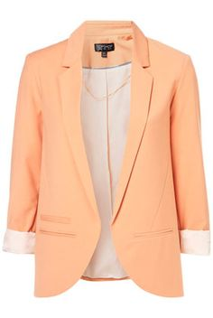 Peachy blazer -- dont have this in my closet... yet