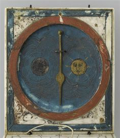 Cadran solaire horizontal à fil-axe. 1647.