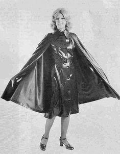 Vintage SBR cape and mackintosh