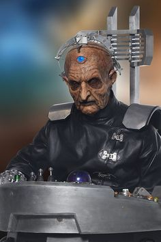 Doctor Who's Enemy Davros Maker of the Daleks 4th Doctor, First Doctor, Doctor Who Enemies, The Rouge, William Hartnell, Bbc One, Torchwood, Bad Wolf, Time Lords