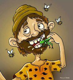 João Batista alimentava-se, no deserto, de gafanhotos!