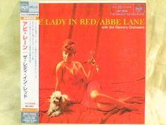 CD/Japan- ABBE LANE w/SID RAMIN'S ORCHESTRA The Lady In Red w/OBI MINI-LP RARE #JazzPop