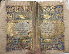 AbeBooks' 50 Most Expensive Sales of 2014 An Illuminated Quran manuscript - $13,002 Published around 1823. This book has black ink on Ottoman polished paper, borders in blue and gold and margins decorated with flowers, and is complete with its original morocco slipcase. It's a typical Quran published for private use by the middle classes during this period, with beautiful calligraphy and illumination.