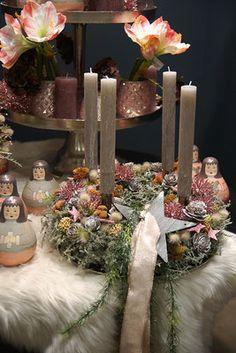 Weihnachtliche Gesteckideen & Totensonntag