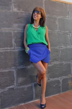 Pantalones y blusa de Zara