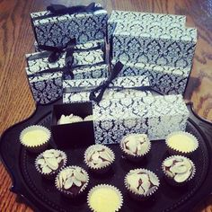 15th years birthday gifts party!  Some delicious Brigadeiros# passion fruit an dark chocolate.