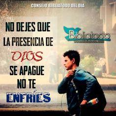 No dejes que la presencia de Dios se apague en tu vida