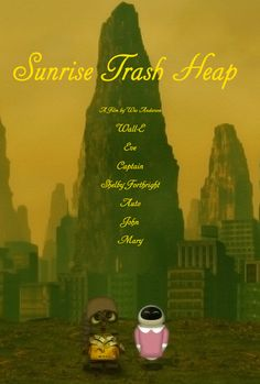 Sunrise Trash Heap | If Your Favorite Disney Movies Were Written By Wes Anderson. -LOVE!