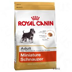 Animalerie  Royal Canin Breed Miniature Schnauzer Adult pour chien  3 x 3 kg