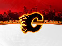 Flames Wallpaper by fatboy Page Android Forums at Hockey Logos, Ice Hockey Teams, Sports Teams, Western Conference, Calgary, Nhl, Neon Signs, Cool Stuff, History