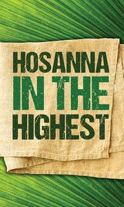 Hosanna in the highest Easter banner