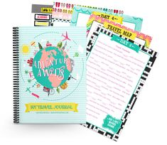 Free Printable Travel Journal for Your Family Vacation ...