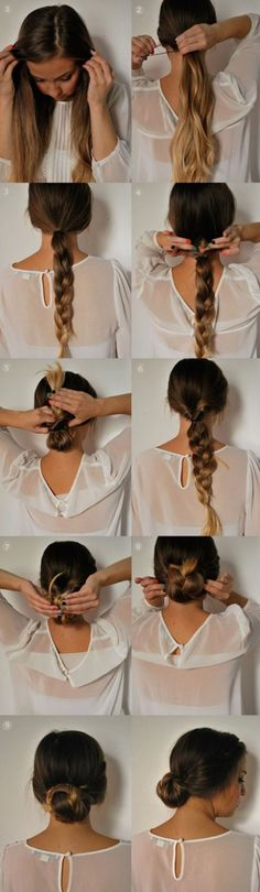 13 peinados de verano, tutorial
