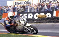 Ron Haslam VFR750 1986