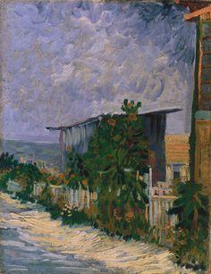 Shelter On Montmartre, Vincent van Gogh (1886)