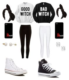 """Wicked Twin Sisters"" by livelikeluv on Polyvore featuring 10 Crosby Derek Lam, River Island and Converse"
