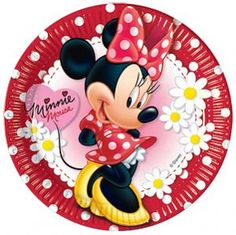 Black Friday 2014 Minnie Mouse Polka Dot Paper Plates from Disney Cyber Monday. Black Friday specials on the season most-wanted Christmas gifts. Minnie Mouse Theme Party, Red Minnie Mouse, Minnie Birthday, Mickey Mouse And Friends, Mickey Mouse Y Amigos, Daisy Party, Red Party, Polka Dot Party, Polka Dots