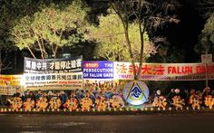 Candlelight Vigils in Melbourne Australia and Auckland New Zealand Oppose the Persecution   Falun Dafa - Minghui.org
