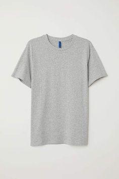 T-shirt - Black - Men Tank Top Shirt, T Shirt, Dark Khaki, Short Tops, Fashion Company, Black Cotton, Black Men, Fashion News, Tunic Tops