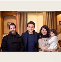 arabianroyalsagency:  HRH Crown prince Al Hussein with His personal Photographer Hamzah Azouqa and his Family