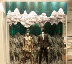 Kenzo windows 2014 Summer, Paris – France