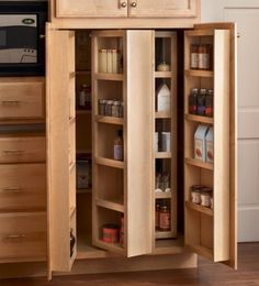 pantry cabinets kitchen cabinets options for a kitchen pantry you deserve pantry pinterest kitchen pantries pantry and kitchens. beautiful ideas. Home Design Ideas