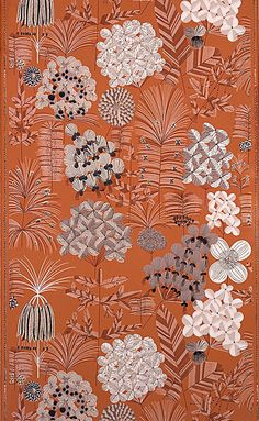 Sidewall, Blutengarten (Blossom Garden), 1913–32. This is a Sidewall. It was designed by Felice Rix-Ueno and made by Wiener Werkstätte. It is dated 1913–32.