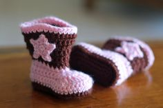 NEW TODDLER SIZE Crochet Cowboy Boots - Toddler Boot Scoot'n Boots -  Cowboy Boots, Cowgirl Boots. $35.00, via Etsy. - on no cowboy(girl) boots! Can't decide now.