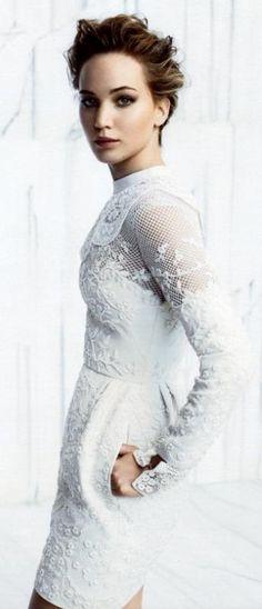 Jennifer Lawrence ♥ in Valentino