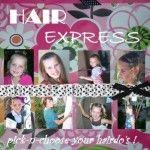 Hair Express: Pick-n-choose your hairdo's (Volume 1)