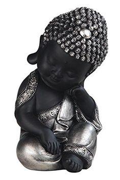 StealStreet Black and Grey Thinking Baby Buddha Religious Decorative… Baby Buddha, Buddha Face, Little Buddha, Buddha Zen, Buddha Quote, Buddha Decor, Meditation Altar, Lord Balaji, Buddha Tattoos