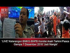 'Aceh Berduka !! Keterangan BMKG BNPB Kondisi Aceh Terkini Pasca Gempa