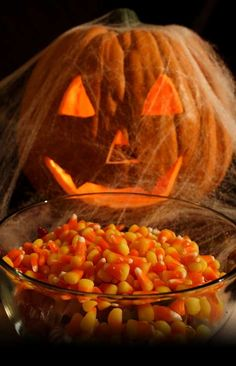 don't know that I'd want to eat these candy corns...  :)  Good idea though!