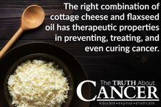 There is an excellent combination of foods you need to be eating to fight your cancer from the inside out - the Budwig Diet Protocol! Find out how to make the Budwig Diet Protocol a Lifestyle! Article by Dr. David Jockers DC, MS, CSCS. Click through and read more! // The Truth About Cancer