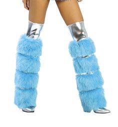 Dance Wear, Leg Warmers, Faux Fur, Legs, Accessories, Art, Fashion, Dancing Outfit, Leg Warmers Outfit