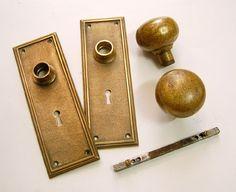 Doorknob S255洋館で使われていそうなドアノブアンティーク古い部品 インテリア 雑貨 家具 Antique ¥10000yen 〆08月01日
