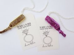 To Have and To Hold Your Hair Back - Bridesmaid Gifts - Bridal Party Gifts - Bachelorette Favors - Bachelorette Party Decor - Bachelorette
