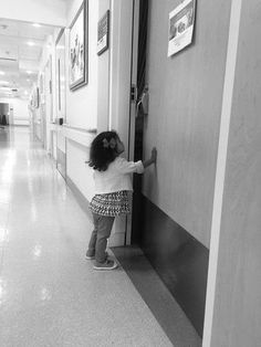 Take a photo of the moment right before your older child meets his or her little brother/sister for the first time.  Black and white photos just capture the moment.