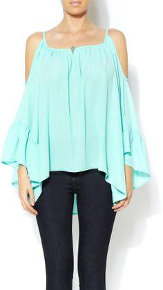 Veronica M Mint Cold Shoulders on shopstyle.com