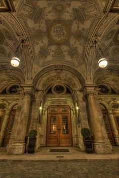 State Opera House entrance #Budapest