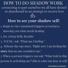Recovery from abuse with shadow work Emotional Healing, Self Healing, Chakras, Inner Child Healing, Self Discovery, Coping Skills, Emotional Intelligence, Spiritual Awakening, Self Development