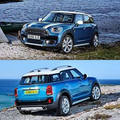 The 2017 Mini Countryman, do you like the cosmetic changes?? #mini #countryman #lovecars #restyling @mini #horsepower #driver #TagsForLikes #exoticcars