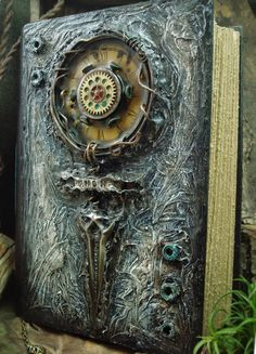 book cover idea … Altered Alchemy Gallery: Handmade Journals