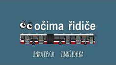 POV očima řidiče autobusu: linka 118 - YouTube