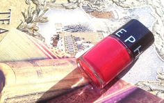 KireiKana: Лак для нігтів Sephora Cherry Popsicle nail polish #beauty #beautyblog #sephora #manicure #nails #redpolish #nailpolish