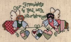 Friendship - Counted Cross Stitch