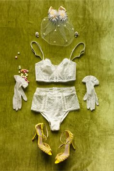 Filigreed Finery Bra in SHOP The Bride Bridal Lingerie at BHLDN