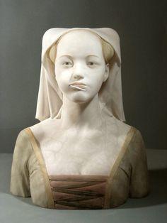 Buste sculpté par Gerard Mas